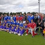 Legends Charity Football Match Leicester v Nottingham